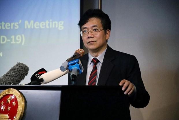 La Chine salue la cooperation de l'ASEAN dans la lutte anticoronavirus hinh anh 1