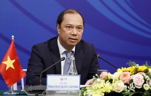 Le chef du SOM ASEAN Vietnam devoile l'agenda de l'AMM-53 hinh anh 1