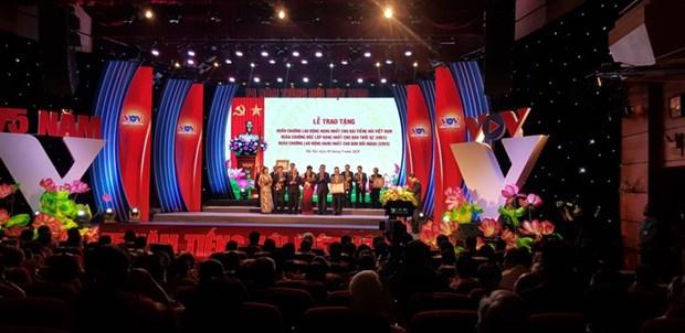La Voix du Vietnam celebre son 75e anniversaire hinh anh 1