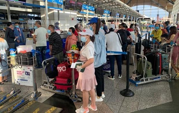 Rapatriement de 230 citoyens vietnamiens de Taiwan (Chine) hinh anh 1