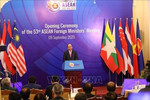 Le PM exhorte l'ASEAN a maintenir sa solidarite et a rester ferme sur sa voie hinh anh 1