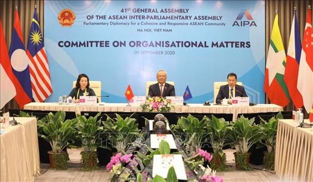 Le vice-president de l'AN du Vietnam exhorte l'ASEAN et l'AIPA a s'unir hinh anh 1
