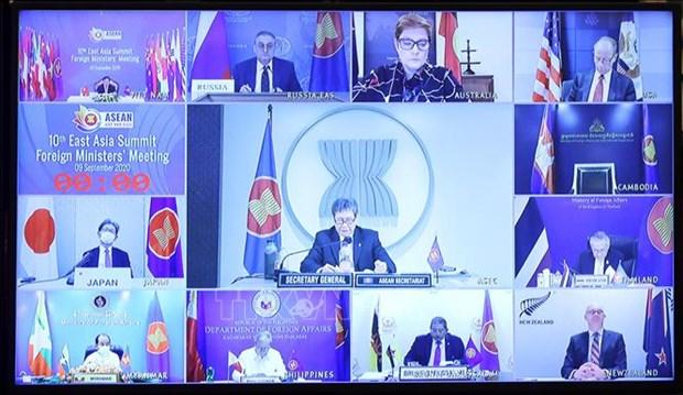 ASEAN 2020: la 53e conference des ministres des AE de l'ASEAN tenue en ligne hinh anh 1