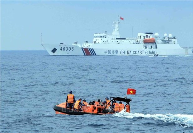 Negociations Vietnam - Chine sur la zone maritime a l'exterieur du golfe du Bac Bo hinh anh 1
