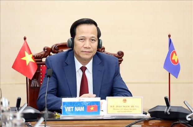 Le Vietnam participe a la reunion des ministres du Travail et de l'Emploi du G20 hinh anh 1