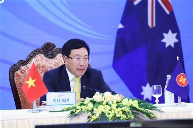 Reunions ASEAN-Australie et ASEAN-Nouvelle-Zelande hinh anh 1