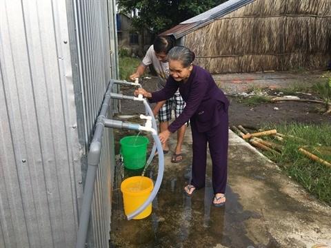 Kien Giang : efforts pour l'alimentation en eau potable dans les communes littorales hinh anh 1