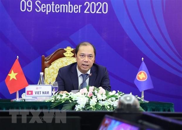 Le communique commun de l'AMM 53 reconnait les initiatives et les propositions du Vietnam en 2020 hinh anh 1