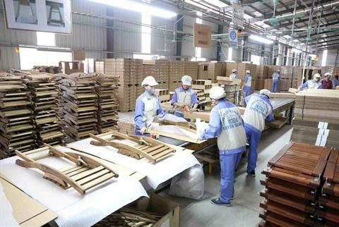 Les exportations de bois et de meubles retrouvent des couleurs hinh anh 1