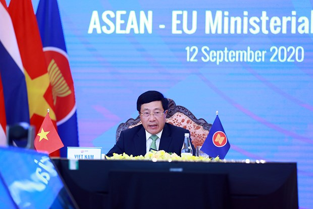 Conferences des ministres Affaires etrangeres ASEAN-UE, ASEAN-Inde hinh anh 1