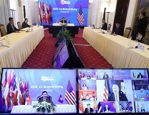 Le Cambodge affirme son engagement a promouvoir les liens entre l'ASEAN et ses partenaires hinh anh 1