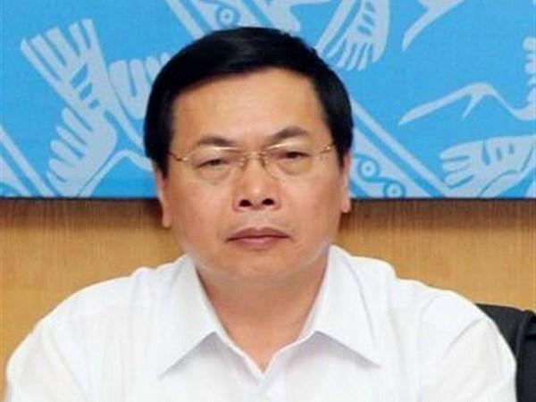 Inculpation de Vu Huy Hoang, ancien ministre de l'Industrie et du Commerce hinh anh 1