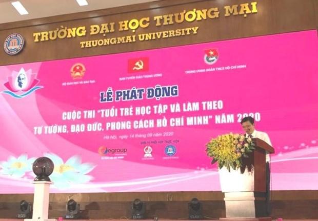 Lancement d'un concours sur le President Ho Chi Minh pour les jeunes hinh anh 1