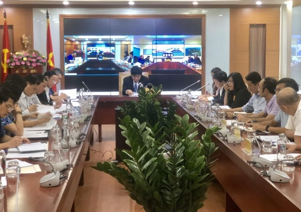 Visioconference entre la VOV et le ministere cambodgien de l'Information hinh anh 1