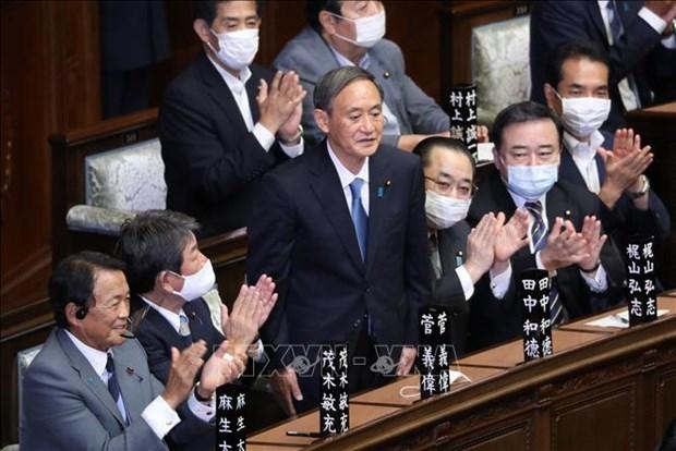 Felicitations au nouveau Premier ministre du Japon hinh anh 1