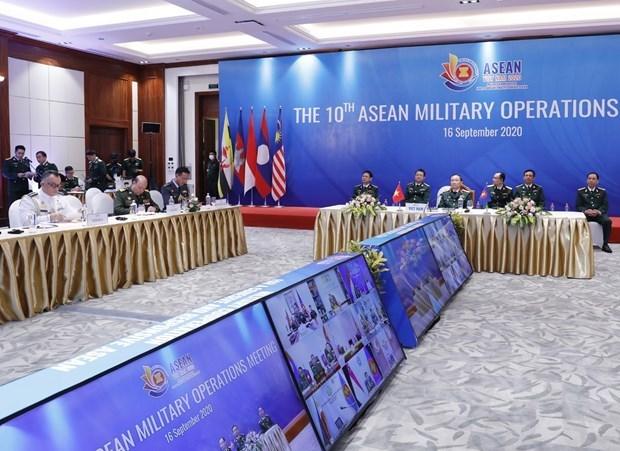 10e reunion des operations militaires de l'ASEAN hinh anh 1