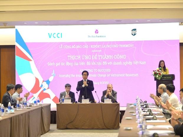 Evaluer les impacts du changement climatique pour les entreprises vietnamiennes hinh anh 1