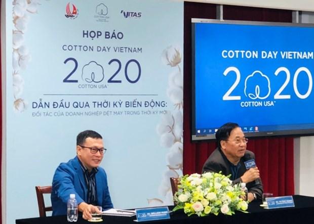 Le Vietnam, 1er debouche pour le coton americain hinh anh 1