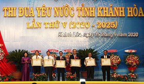 Le 5e Congres d'emulation patriotique de la province de Khanh Hoa hinh anh 1