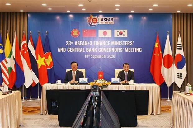L'ASEAN+3 discute des solutions pour stimuler la croissance economique hinh anh 1