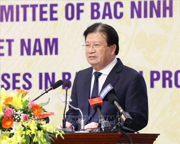Bac Ninh : signature d'un programme de soutien aux entreprises vietnamiennes hinh anh 1