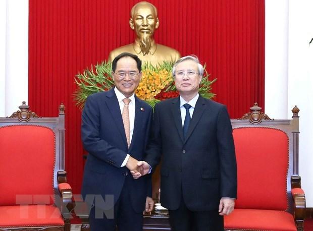 Vietnam-R. de Coree promeuvent les relations bilaterales dans le nouveau contexte hinh anh 1