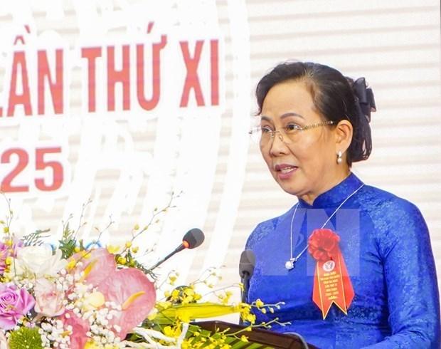 Le Thi Thuy reelue secretaire du Comite du Parti de Ha Nam hinh anh 1