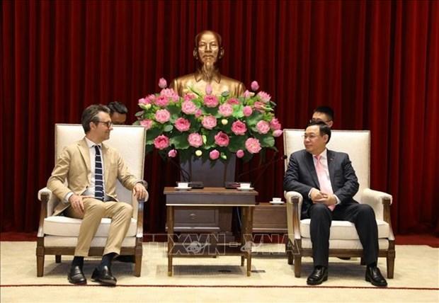 L'UE, un partenaire economique et commercial important de Hanoi hinh anh 1