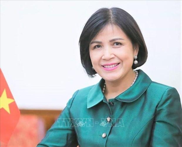 Le Vietnam soutient la participation des femmes au commerce international hinh anh 1