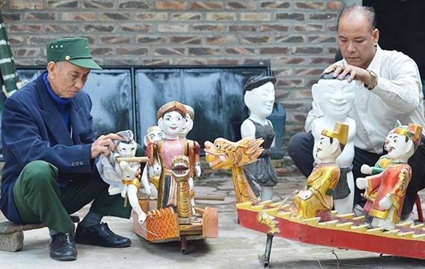 Le village de marionnettes sur l'eau de Dong Ngu cultive ses manies hinh anh 1