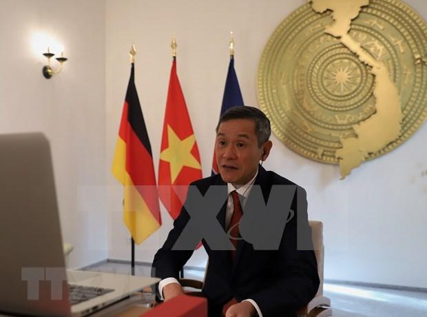 Vietnam et Allemagne promeuvent la cooperation dans des technologies de l'information hinh anh 1
