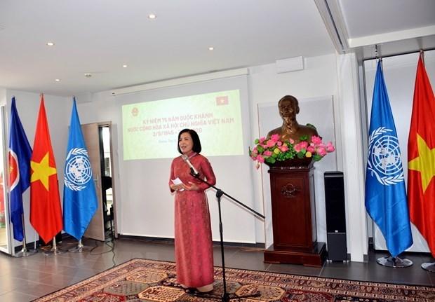 Les Vietnamiens de l'etranger exhortes a apporter davantage de contributions a leur Patrie hinh anh 1