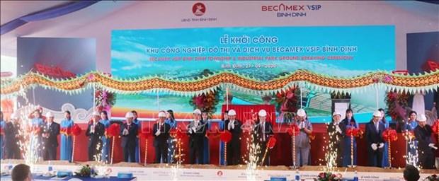 Mise en chantier d'un parc industriel de 143 millions de dollars a Binh Dinh hinh anh 1