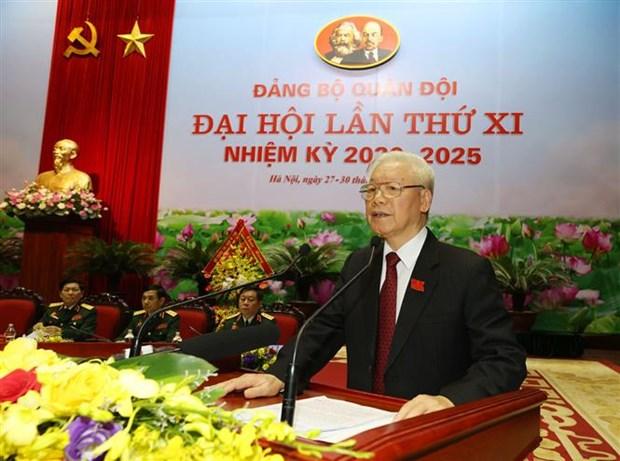 Le leader exhorte a rendre le Comite du Parti de l'Armee sain et puissant hinh anh 1