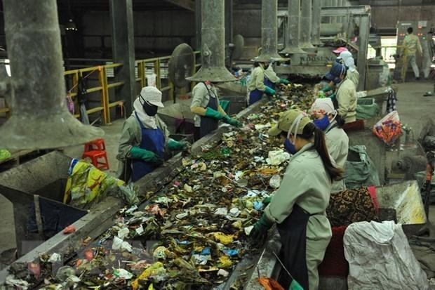 Mise en chantier d'une usine de valorisation energetique des dechets a Hau Giang hinh anh 1