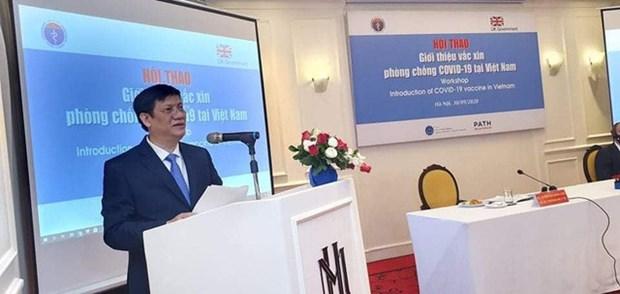 Covid-19: le Vietnam effectuera des tests sur l'homme en 2021 hinh anh 1