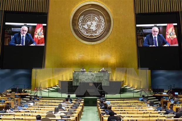 Cloture du debat general de la 75e Assemblee generale de l'ONU hinh anh 1