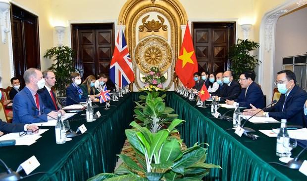 Le Vietnam et le Royaume-Uni renforcent leur partenariat strategique hinh anh 1