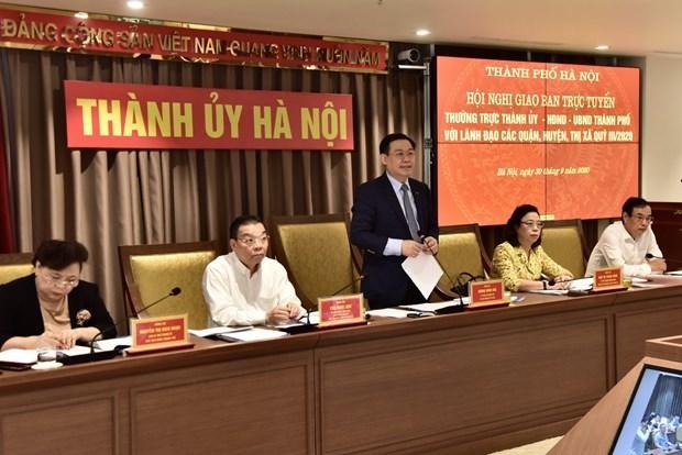 Hanoi vise une croissance d'au moins 5% au quatrieme trimestre hinh anh 1