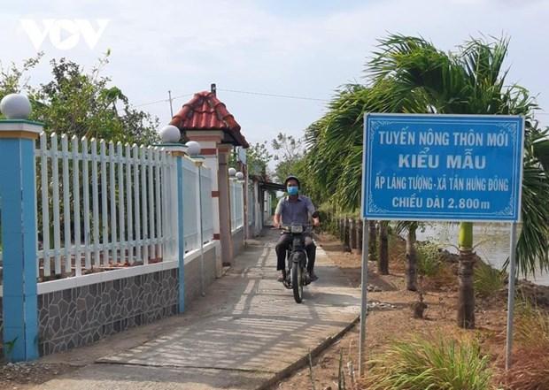 Nouvelle ruralite, nouveau quartier, nouveau depart a Tan Hung Dong hinh anh 2