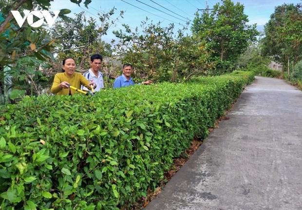 Nouvelle ruralite, nouveau quartier, nouveau depart a Tan Hung Dong hinh anh 1