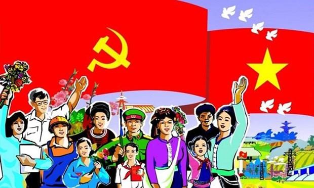Des debats democratiques en vue du 13e Congres national du Parti hinh anh 1
