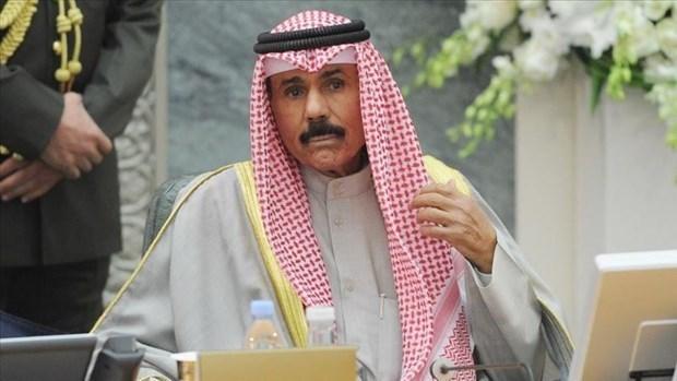 Message de felicitations au nouvel emir du Koweit hinh anh 1