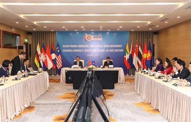 ASEAN : le secteur financier et bancaire travaille les Conseils des entreprises hinh anh 1