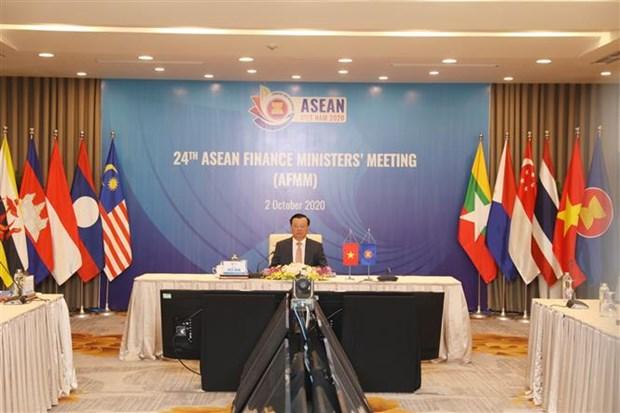 Conference des ministres des Finances de l'ASEAN hinh anh 1