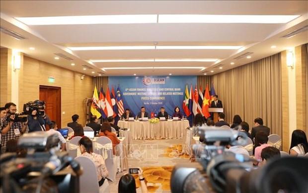 Conference des ministres des Finances de l'ASEAN et des gouverneurs des Banques centrales hinh anh 1