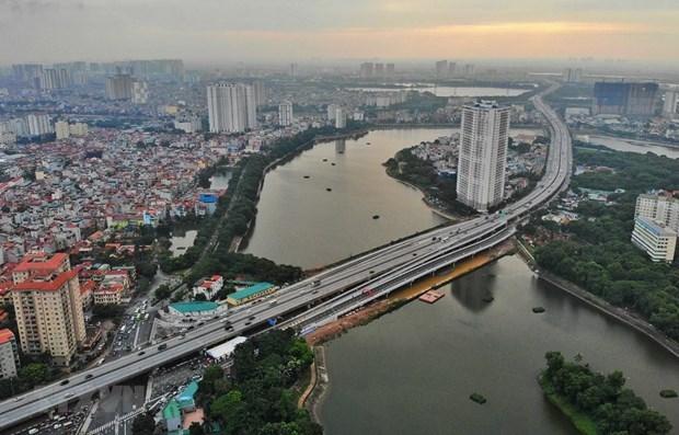 Hanoi reduit la congestion a Linh Dam par des ponts lacustres hinh anh 1