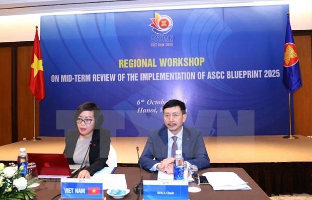 Examen a mi-mandat du plan global de la communaute socioculturelle de l'ASEAN hinh anh 1