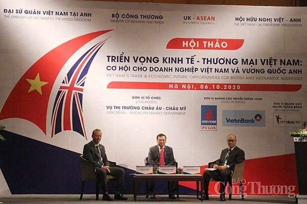 Les liens economiques Vietnam-Royaume-Uni promis a un bel avenir hinh anh 1
