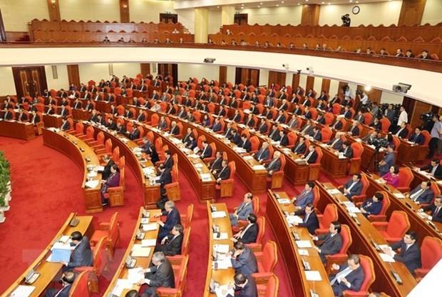 Plenum du Comite central du Parti : discussion de rapports sur le plan de developpement hinh anh 1